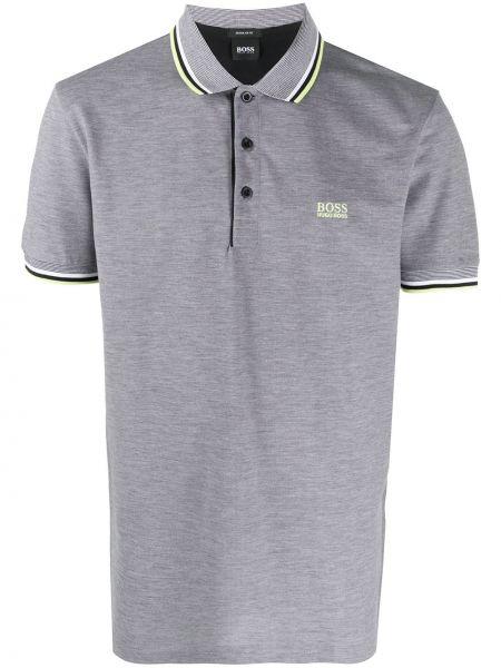 Koszula krótkie z krótkim rękawem klasyczna z paskami Boss