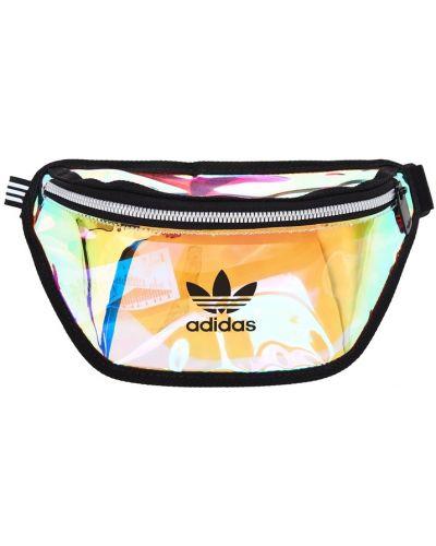 Поясная сумка прозрачная черная Adidas