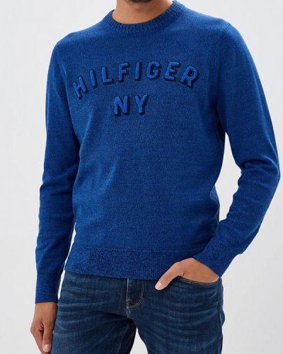 Синий джемпер осенний Tommy Hilfiger