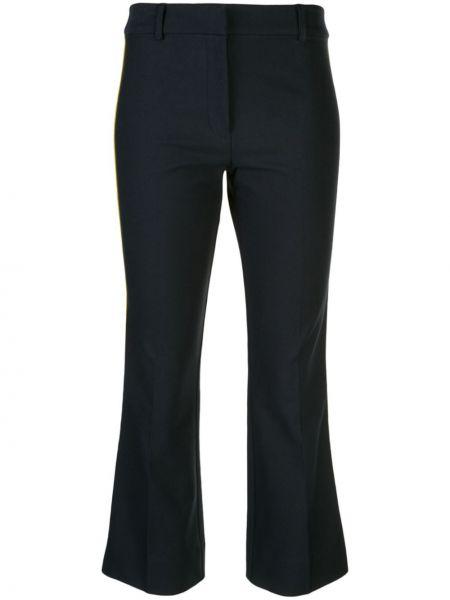 Укороченные брюки расклешенные с полоской по бокам Derek Lam 10 Crosby