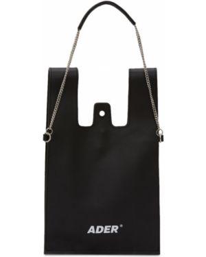 Skórzana torebka na łańcuszku z uchwytem Ader Error
