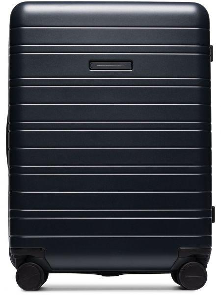 Черный нейлоновый чемодан Horizn Studios