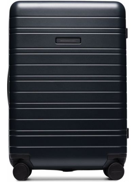 Czarna walizka z nylonu Horizn Studios