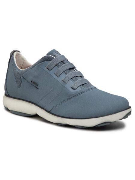 Klasyczne mom jeans - niebieskie Geox