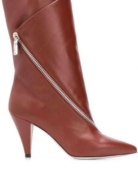 Wysoki buty na obcasie z ostrym nosem Givenchy