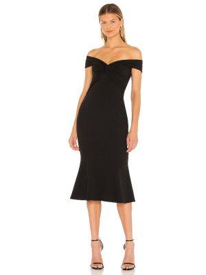 Czarna sukienka rozkloszowana Katie May