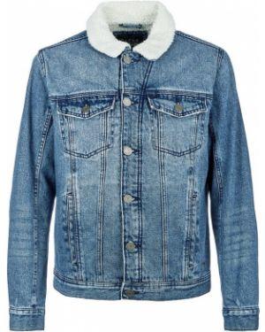 Джинсовая куртка синяя Blend
