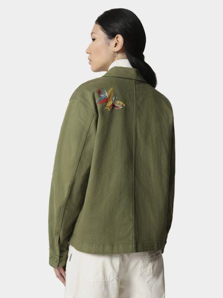 Облегченная зеленая куртка Napapijri