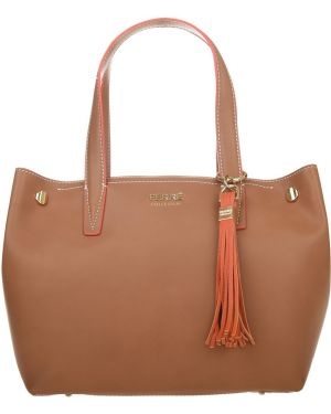 Кожаная сумка - бежевая Ferre Collezioni