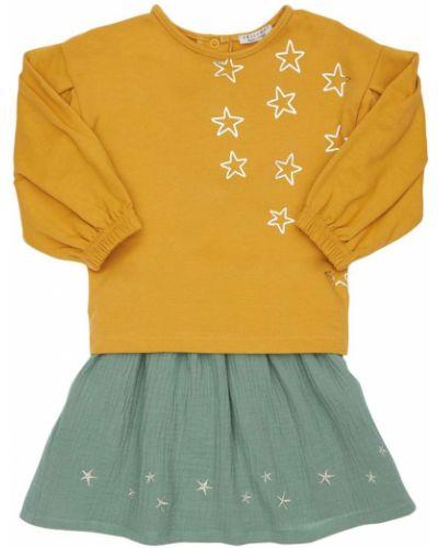 Żółta spódnica bawełniana Yellowsub