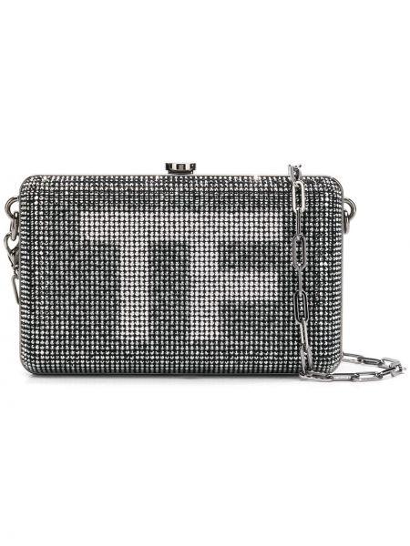 Кожаная черная кожаная сумка Tom Ford