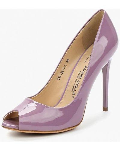 Кожаные туфли на каблуке Marie Collet