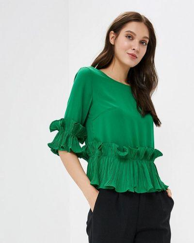 Блузка с рюшами с оборками Paccio