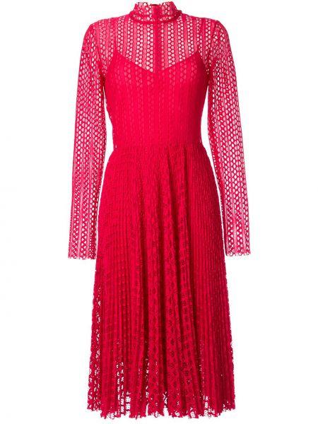 Платье макси розовое с завышенной талией Philosophy Di Lorenzo Serafini