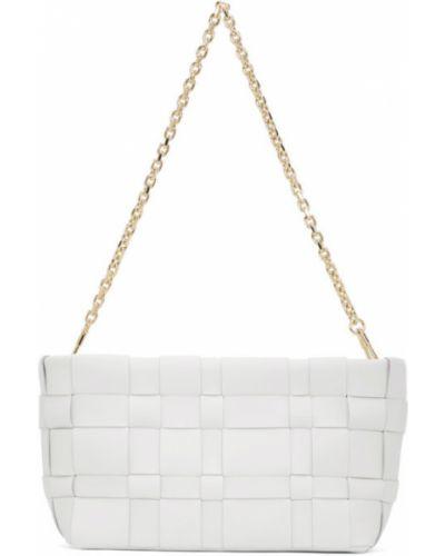 Skórzany biały torebka na łańcuszku prążkowany 3.1 Phillip Lim