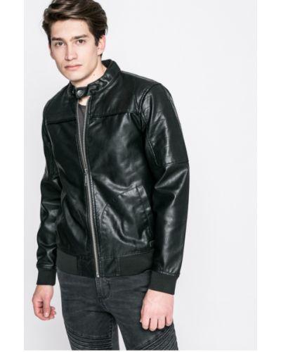 Кожаная куртка легкая из искусственной кожи Casual Friday