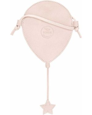 Różowa torebka skórzana Donsje