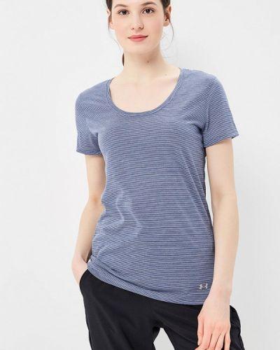 Синяя спортивная футболка Under Armour