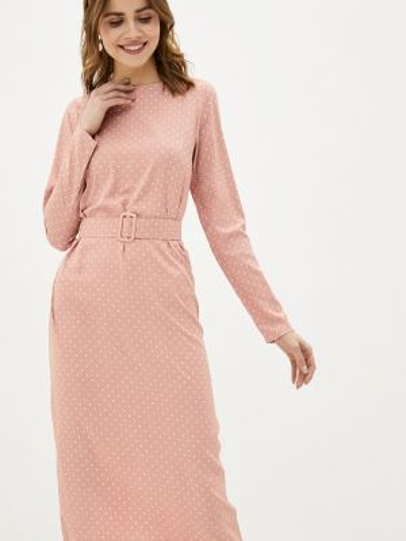 Платье прямое розовое Trendyangel