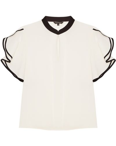 Белая блузка прямая Tara Jarmon