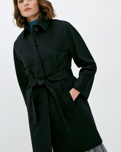 Черное пальто Falconeri