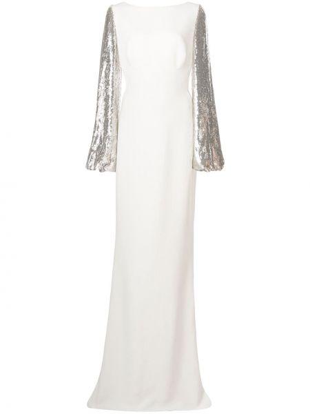 Вечернее платье с пайетками на молнии Stella Mccartney