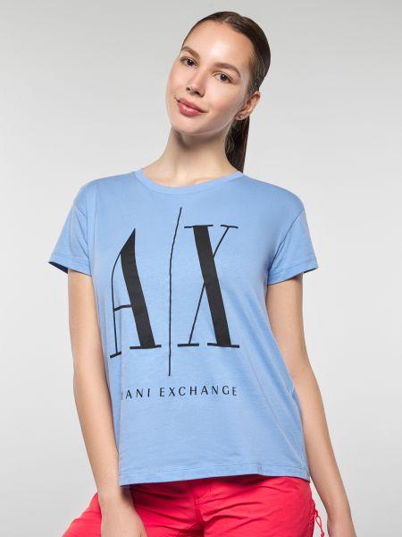 Повседневная футбольная футболка Armani Exchange
