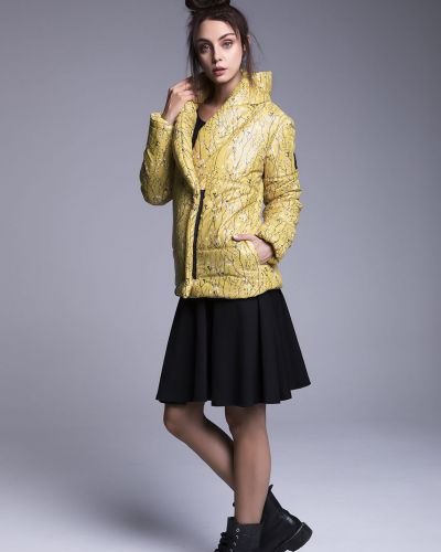 Утепленная куртка - желтая Naoko