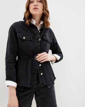 Джинсовая куртка - черная Love Republic