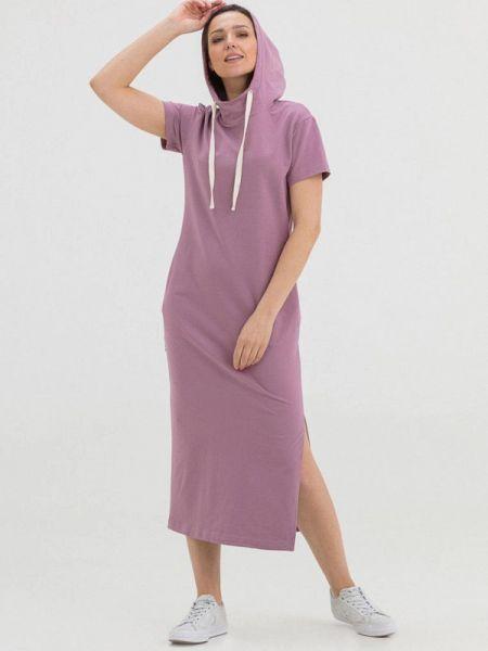 Платье розовое платье-толстовка The Cave