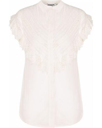 Блузка с коротким рукавом кружевная оверсайз Essentiel Antwerp