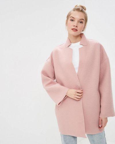 Пальто демисезонное розовое Befree
