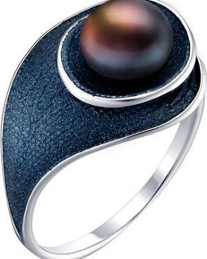 Кольцо с жемчугом из серебра De Fleur