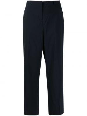 Желтые прямые деловые брюки со складками Jil Sander Pre-owned