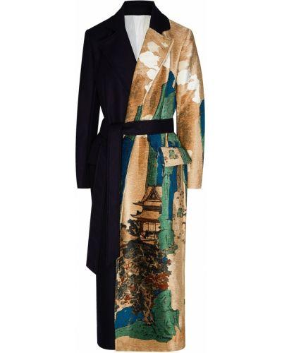 Пальто пальто-халат с принтом Act N°1
