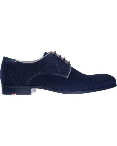 Синие туфли замшевые Lloyd