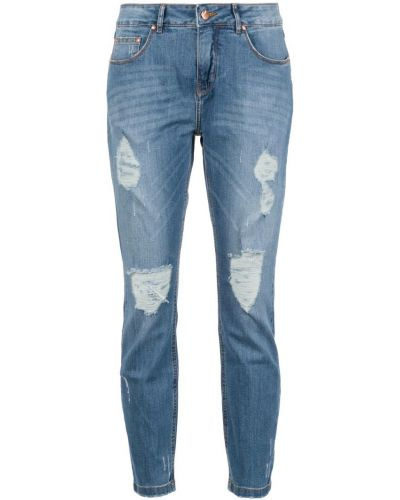 Укороченные джинсы скинни mom Amapô