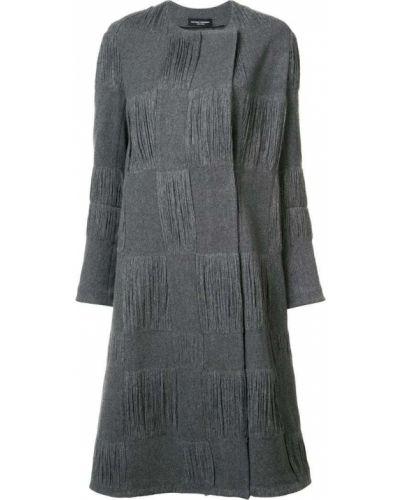 Шерстяное пальто - серое Narciso Rodriguez
