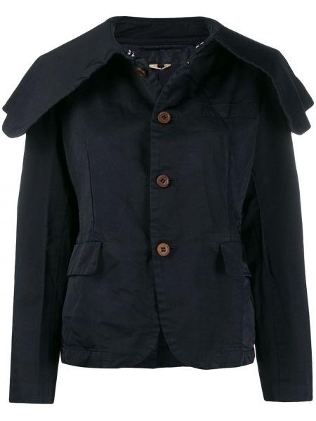 Синее пальто на пуговицах Comme Des Garçons Comme Des Garçons