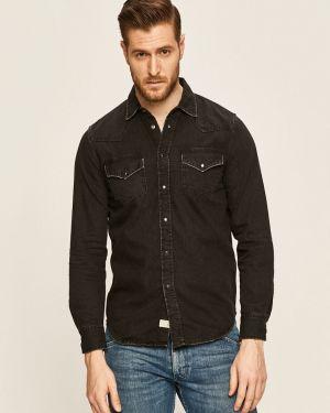 Koszula z długim rękawem klasyczna dżinsowa Diesel
