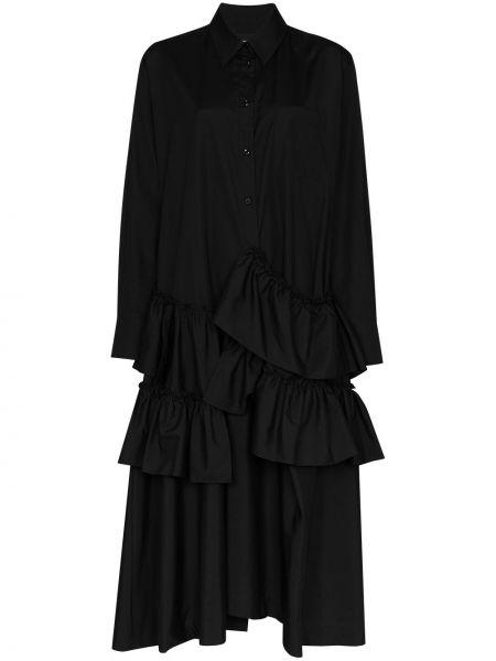 Платье макси с завышенной талией на пуговицах Simone Rocha