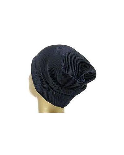 Черная шапка Emporio Armani