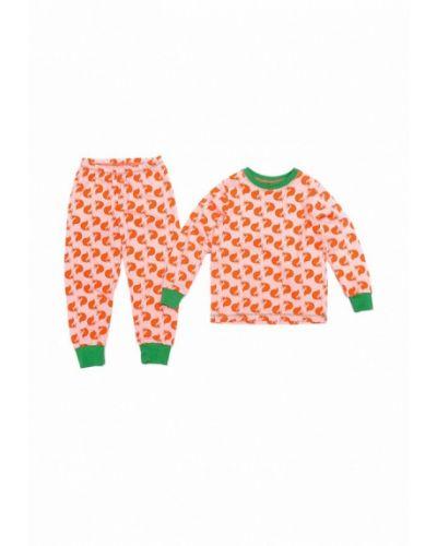 Пижама красный оранжевый Do-re-mi