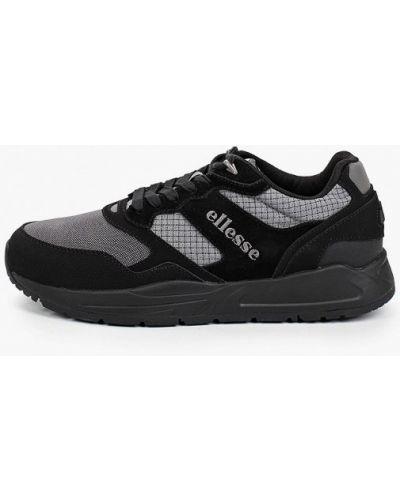 Черные кроссовки из нубука Ellesse