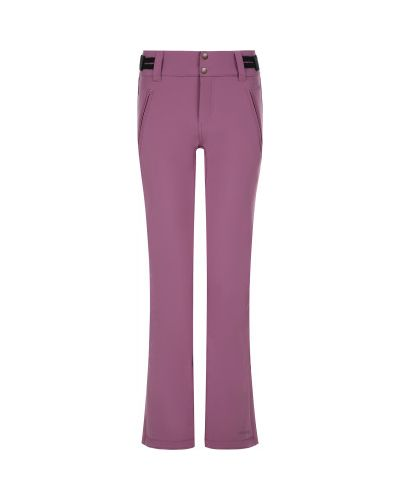 Фиолетовые утепленные спортивные брюки софтшелл Protest