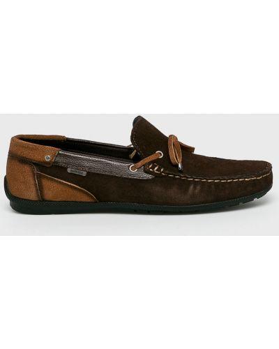 Кожаные туфли коричневый Badura