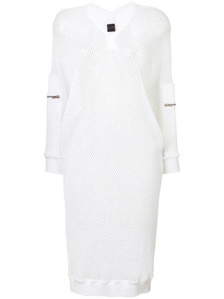 Платье миди винтажная в рубчик Jean Paul Gaultier Pre-owned