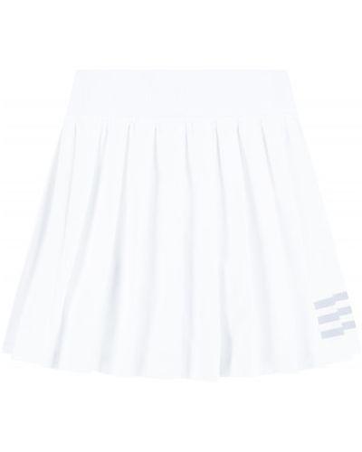 Теннисная белая плиссированная юбка-шорты Adidas