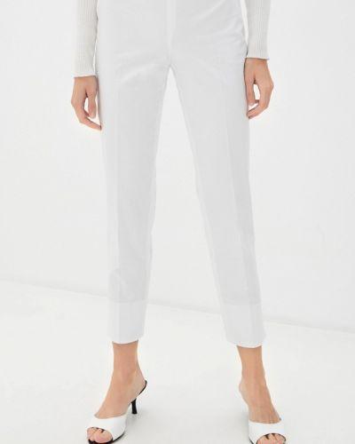 Белые повседневные брюки Trussardi Collection