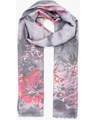 Серый шарф весенний Fabretti